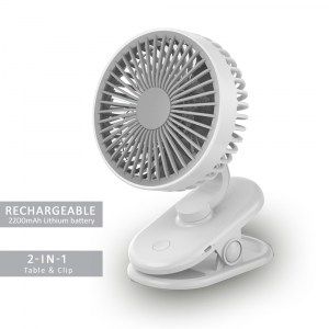 SANSAI 2-IN-1 CLIP ON / DESKTOP PORTABLE FAN