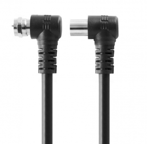 WESTEC PAL - F TYPE RIGHT ANGLE COAXIAL CABLE