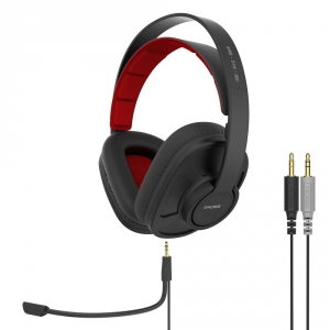 KOSS GAMING STEREO HEADPHONES WITH REMOVABLE MICROPHONE