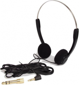 DAI-1CHI BUDGET ON EAR HEADPHONES WITH 6.35mm ADAPTOR
