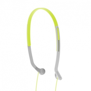 KOSS HEADBAND LIGHTWEIGHT SIDE FIRING FITNESS HEADPHONES - GREEN