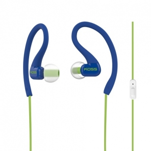 KOSS IN-EAR FITCLIP FITNESS EARPHONES WITH MICROPHONE - BLUE