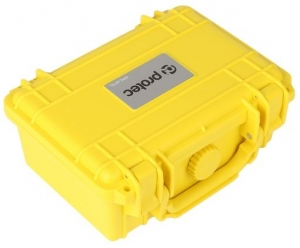 PROTEC RUGGED CARRY CASE 211x167x90mm- YELLOW