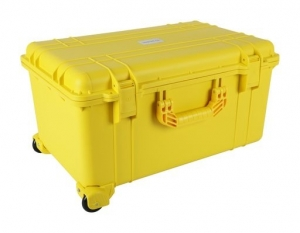 PROTEC RUGGED CARRY CASE 625x420x340mm - YELLOW
