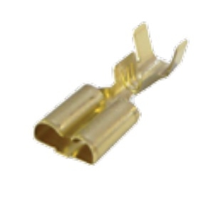 BELLANCO FEMALE CRIMP TERMINALS TO SUIT F2BK/ F4BK CONNECTORS - 100PCS