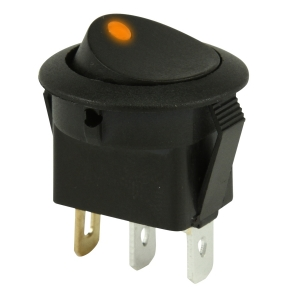 ROCKER SWITCH ON/OFF - AMBER