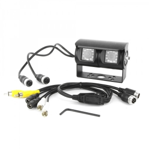 HEAVY DUTY NTSC DUAL CCD TRUCK/BUS/CARAVAN CAMERA