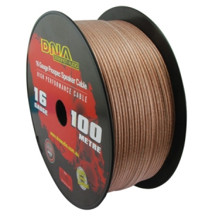 DNA 16 AWG SPEAKER CABLE CLEAR - 100M