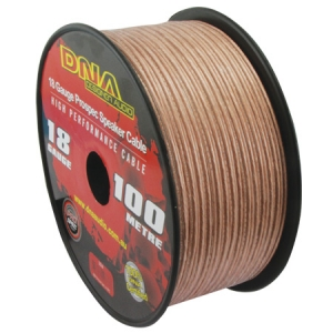 DNA 18 AWG SPEAKER CABLE CLEAR - 100M
