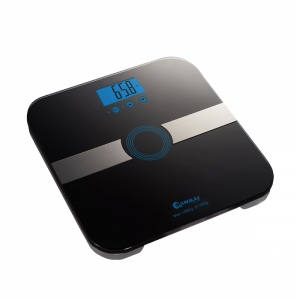 SANSAI MULTI FUNCTION BODY FAT SCALES - BLACK