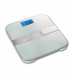 SANSAI MULTI FUNCTION BODY FAT SCALES - WHITE