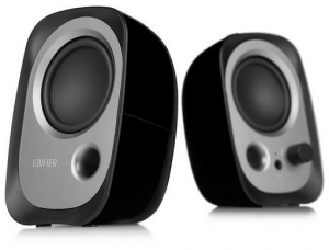 EDIFIER USB POWERED COMPUTER SPEAKERS - BLACK