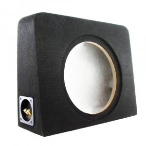 Premium 10 Inch Super Slimline Sealed Subwoofer Enclosure.