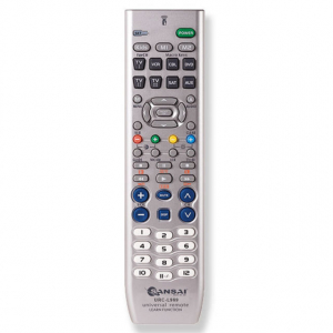 SANSAI 8 IN 1 UNIVERSAL REMOTE CONTROL WITH LEARNING FUNCTION