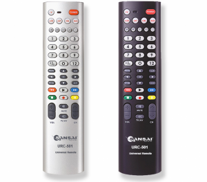 SANSAI 5-IN-1 UNIVERSAL REMOTE CONTROL WITH LEARNING FUNCTION
