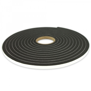 DNA ADHESIVE BACK FOAM TAPE 10mm WIDE x 12.7mm TALL - 7.6M