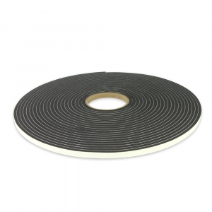 DNA ADHESIVE BACK FOAM TAPE 10mm WIDE x 6.4mm TALL - 15.2M ROLL