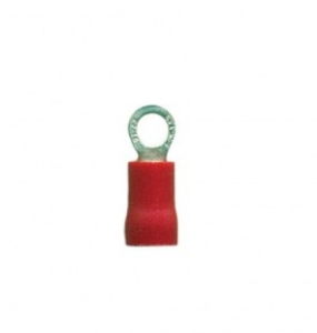 DNA RED RING TERMINALS 3.7mm  100PK