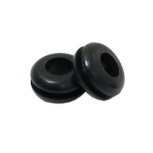 DNA PVC RUBBER GROMMET (WITH HOLE) 6.4mm - 50 PACK
