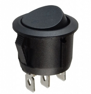WESTEC MINI SPDT ROCKER SWITCH WITH 15MM MOUNTING HOLE - 10PK