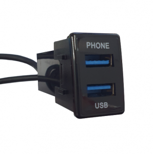 WESTEC DUAL USB3.0 FACTORY FIT FOR ANDROID AUTO/ CARPLAY TO SUIT ISUZU